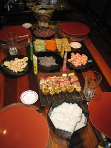 home-rolled-sushi-on-our-liveaboard